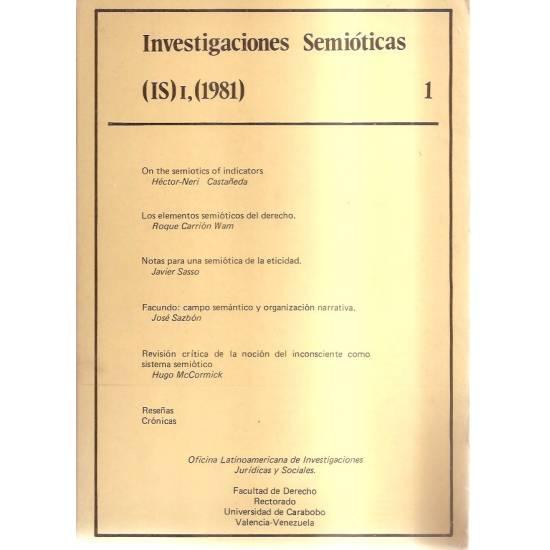Investigaciones semióticas 1