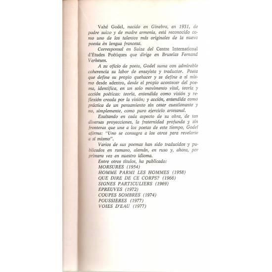 Señas particulares y otros poemas