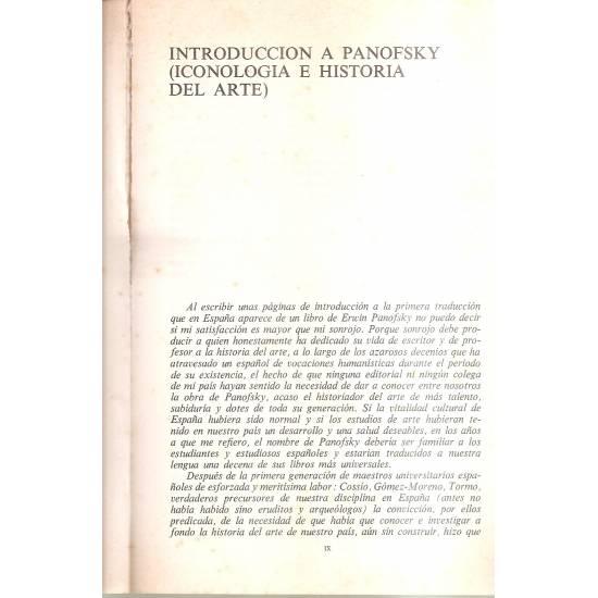 Estudios sobre la iconografía