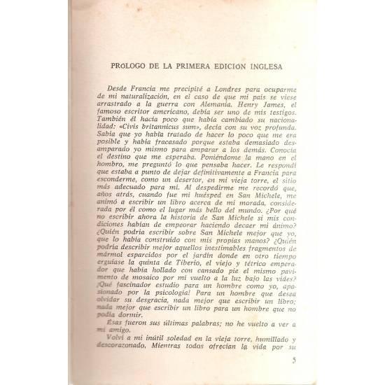 La historia de San Michele (novela)