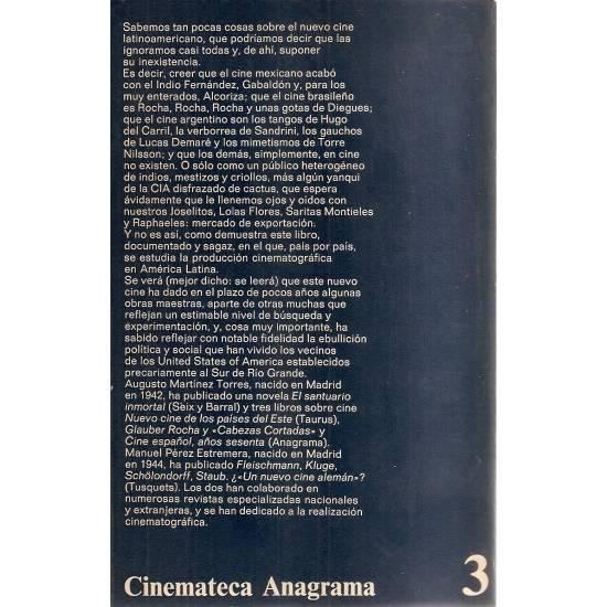El nuevo cine latinoamericano