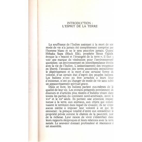 Pieds nus sur la terre sacree (en francés)