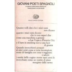 Giovani poeti spagnoli (edición bilingüe español-italiano)