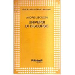 Universi di discorso (en italiano)