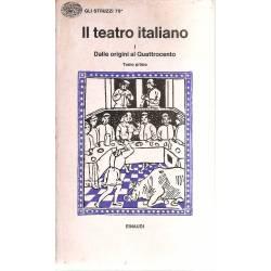 Il teatro italiano 2 tomos (bilingüe italiano-latín)