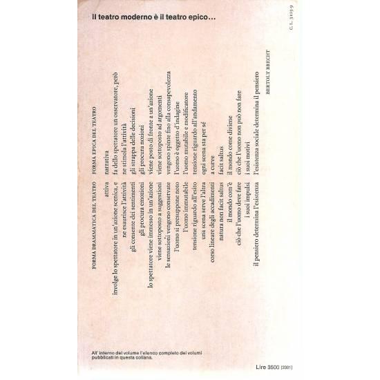 I capolavori di Brecht L´opera da tre soldi (en italiano)