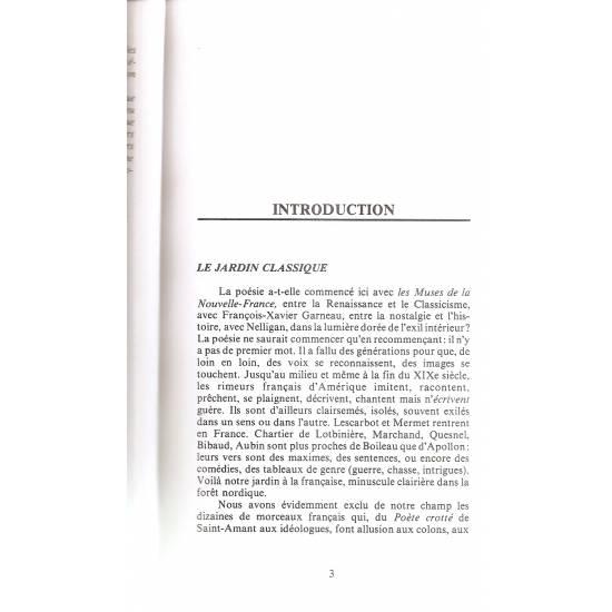 La poésie québécoise Anthologie (en francés)
