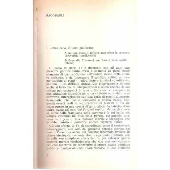 Giullari e Fo (en italiano)