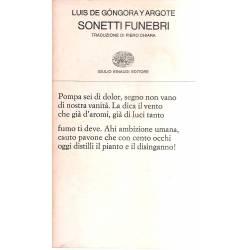Sonetti Funebri (edición biingüe español-italiano)