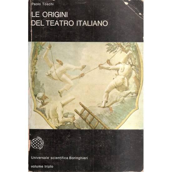 Le origini del teatro italiano (en italiano)