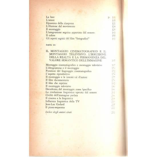 Cinema Lingua e scrittura (en italiano)