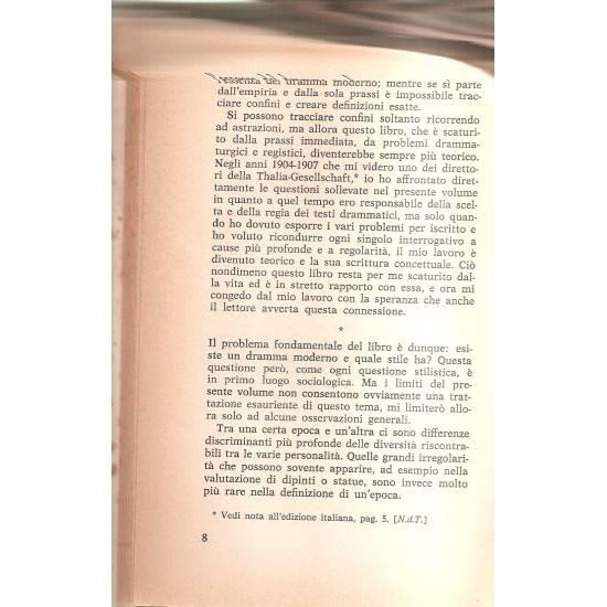 Il dramma moderno (en italiano) Gyorgy Lukács