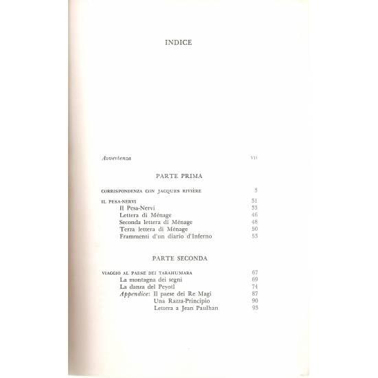 Al paese dei tarahumara e altri scritti (en italiano)