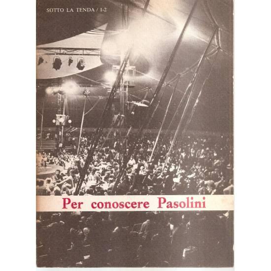 Per conoscere Pasolini (en italiano)