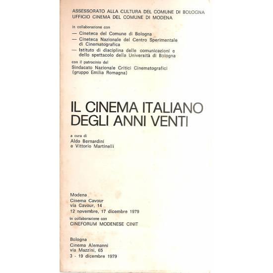 Il cinema italiano degli anni venti (en italiano)
