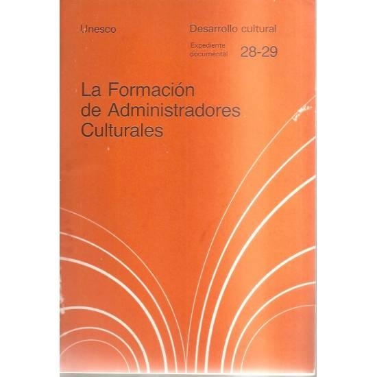 La formación de administradores culturales