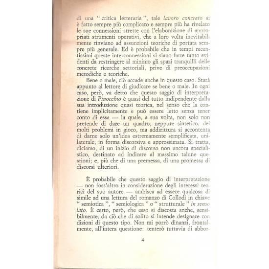 Pinocchio uno e bino (en italiano)