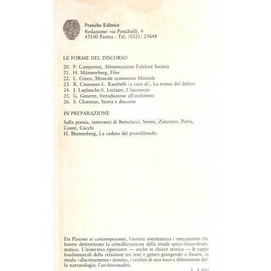 Introduzione all´architesto (en italiano)