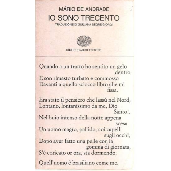 Io sono trecento (edición bilingüe portugués-italiano)