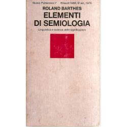 Elementi di semiologia (en italiano)