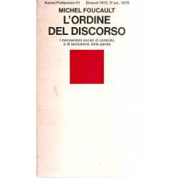 L´ordine del discorso (en italiano)
