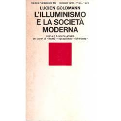 L´illuminismo e la societá moderna (en italiano)