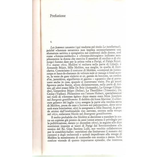 Le intellettuali Moliere (en italiano)