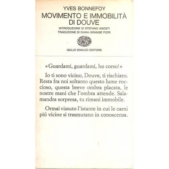 Movimento e immobilitá di Douve (edición bilingüe francés-italiano)