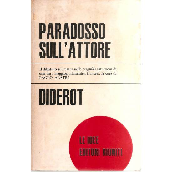 Paradosso sull´attore (en italiano)