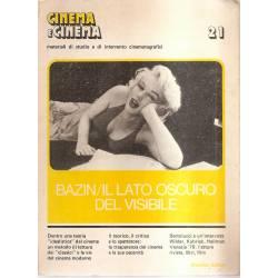 Bazin Il lato oscuro del visibile Cinema (en italiano)
