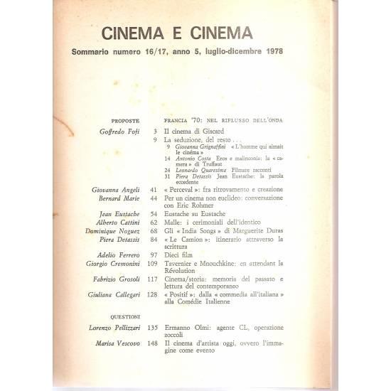 Francia 70 Nel riflusso dell´onda Cinema (en italiano)