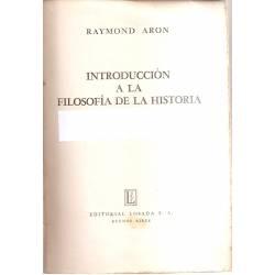 Introducción a la filosofía de la historia