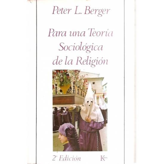 Para una teoría sociológica de la religión