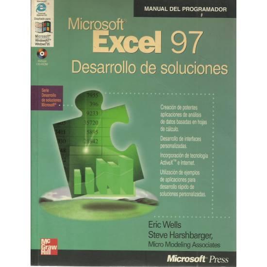 Microsoft Excel 97 Desarrollo de soluciones
