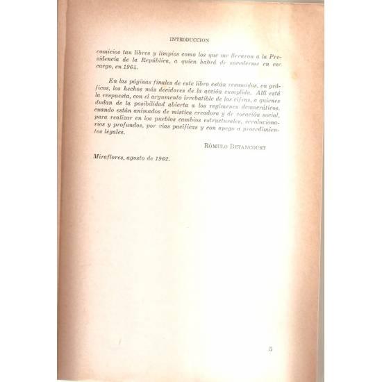 Tres años de gobierno democrático 1959-1962 (2 tomos)