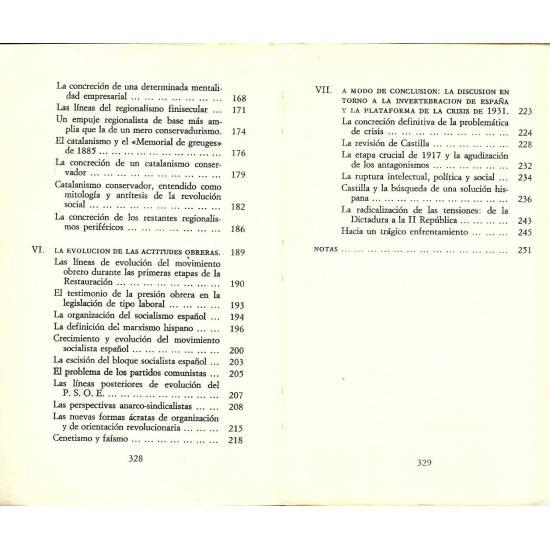 Ideologias y clases en la Espana contemporanea (1874-1931). Tomo II. Aproximacion a la historia social de las ideas