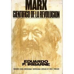 Marx, cientifico de la revolucion