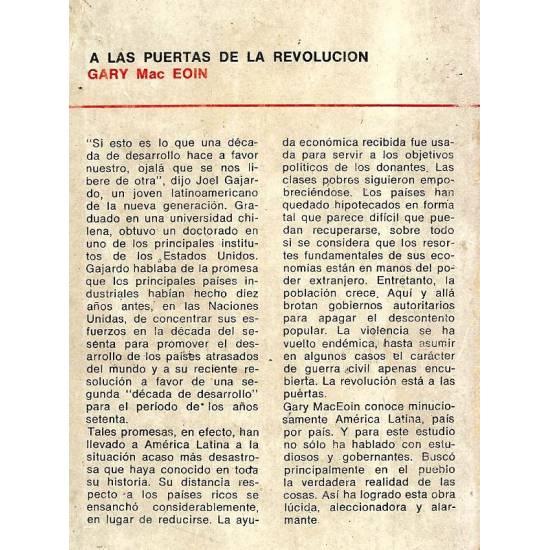 A las puertas de la revolucion
