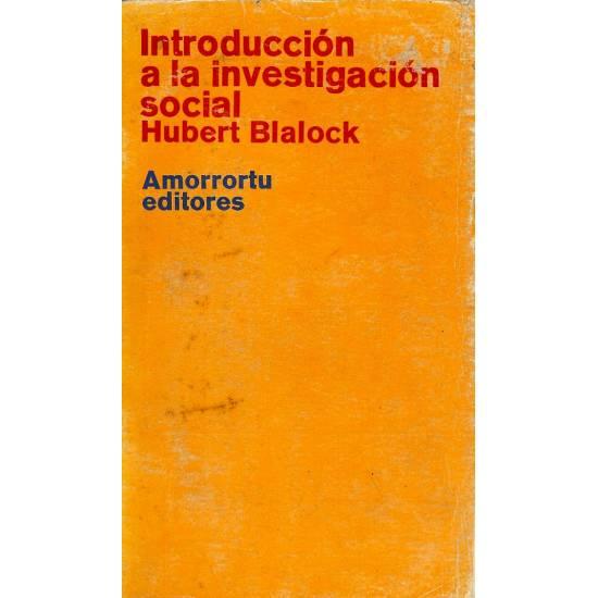 Introduccion a la investigacion social
