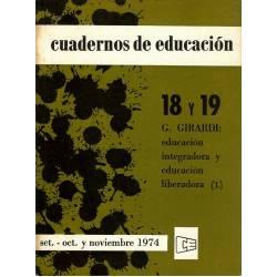 Educacion integradora y educacion liberadora. 2 tomos