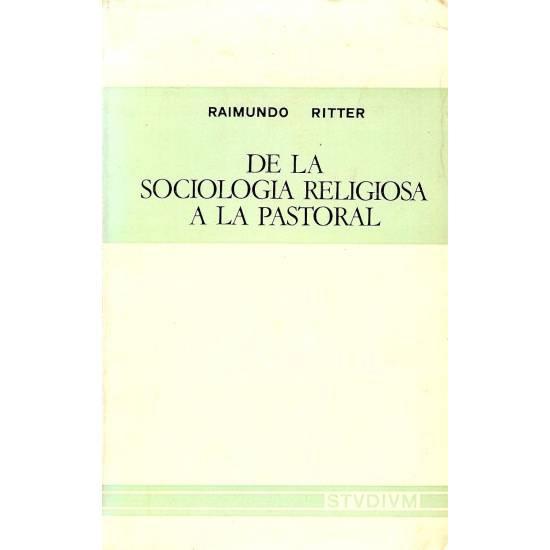 De la sociologia religiosa a la pastoral
