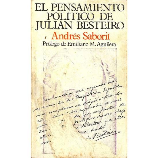 El pensamiento politico de Juan Besteiro