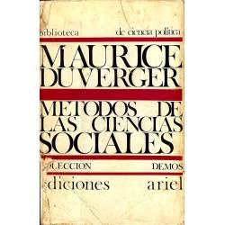 Métodos de las ciencias sociales
