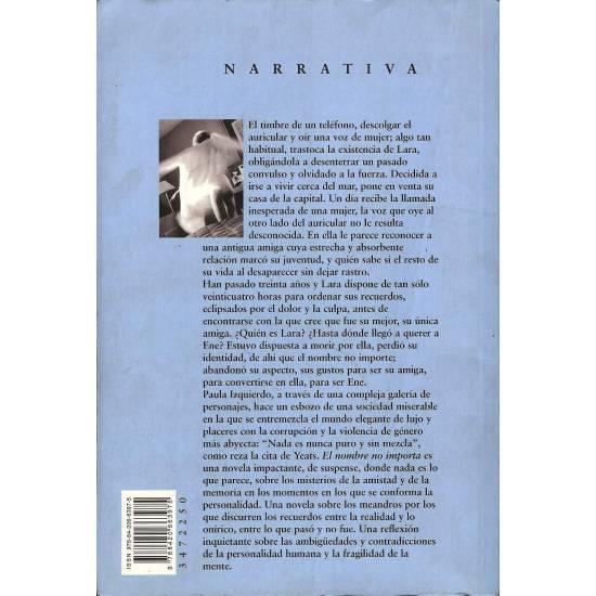 El nombre no importa (novela)
