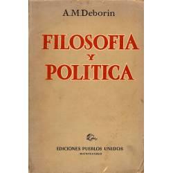 Filosofia y politica