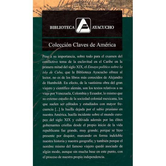 Ensayo politico sobre la isla de Cuba Alejandro de Humboldt
