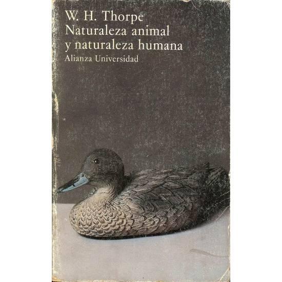 Naturaleza animal y naturaleza humana