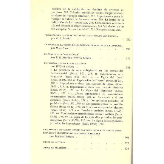 Los fundamentos de la ciencia y los conceptos de la psicologia y del psicoanalisis