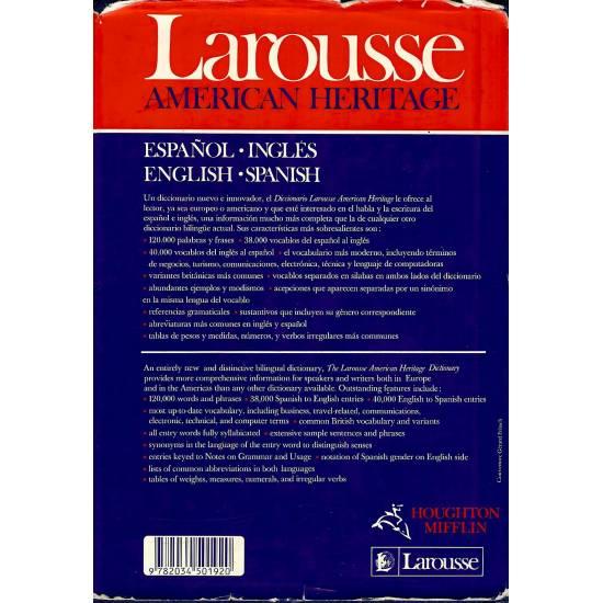 Larousse American Heritage Espanol-Ingles English-Spanish