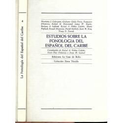 Estudios sobre la fonologia del español del Caribe